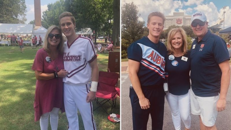 The Iron Bowl can mean many things, but for the Hendrix family in Hoover, it's a rivalry that...