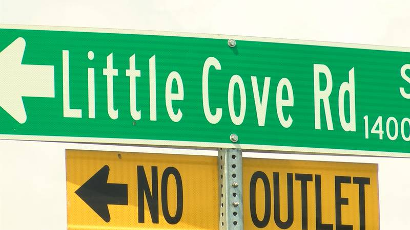 Little Cove Road currently has two lanes, County Commissioners want to make it five lanes.