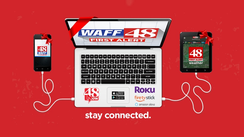 Stay Connected with WAFF 48 Digital