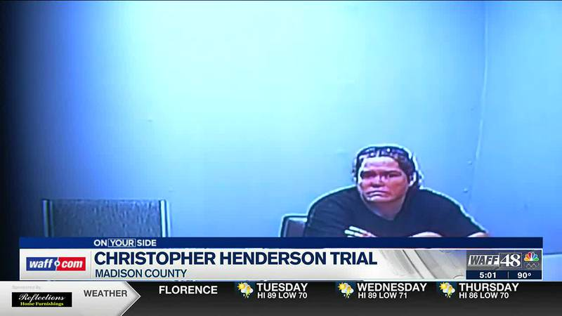 More details released from Christopher Henderson's wife on the stand