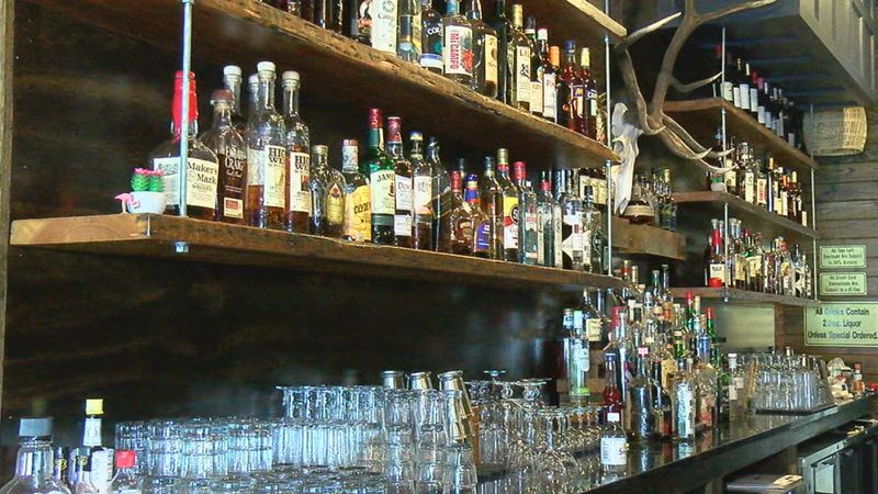 Under new state guidelines, restaurants and bars cannot sell alcohol for on-premise consumption...