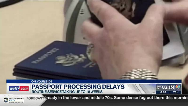 Processing causing delays in receiving passports
