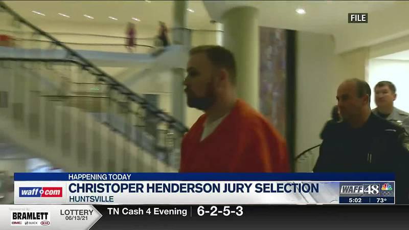 Jury selection begins for Christopher Henderson