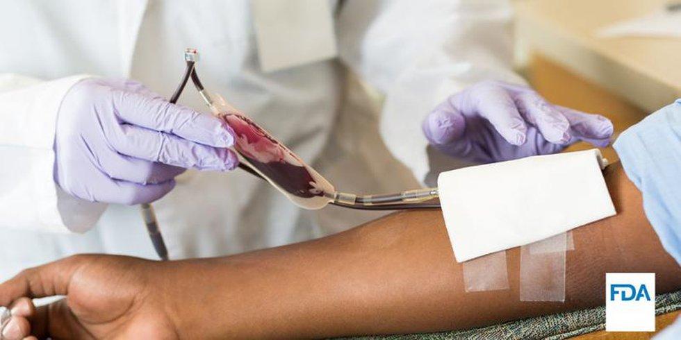Donate blood and plasma