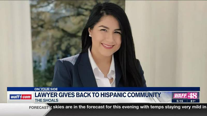 Lawyer gives back to Hispanic community
