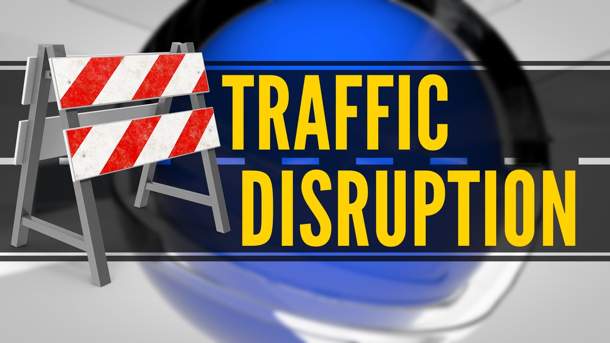 Read more below on the traffic disruption