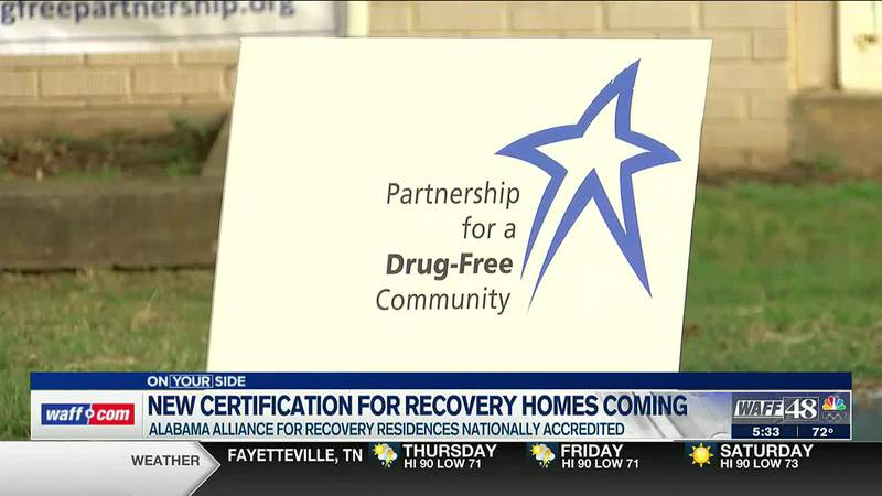 Alabama Alliance for Recovery Residences receives accreditation