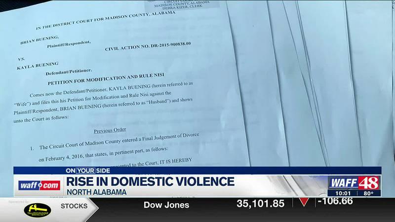Rise in domestic violence