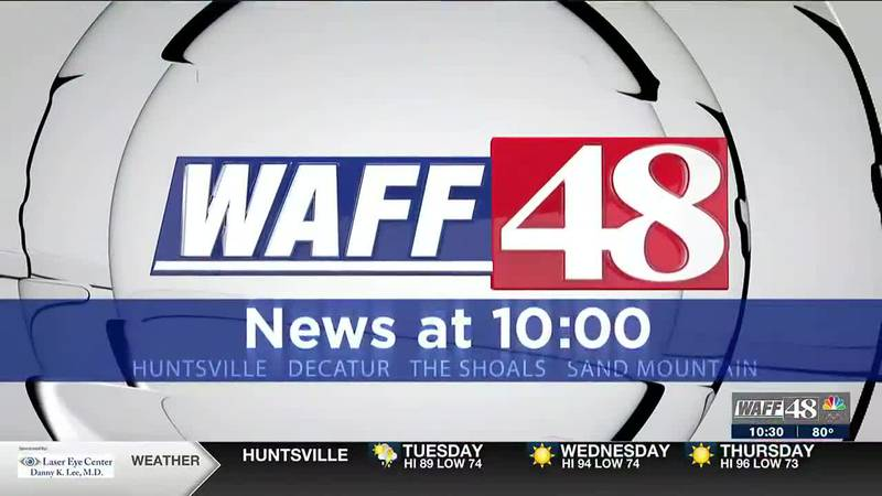 WAFF Newscasts at 10 p.m.