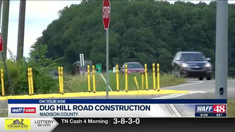 Dug Hill Road construction