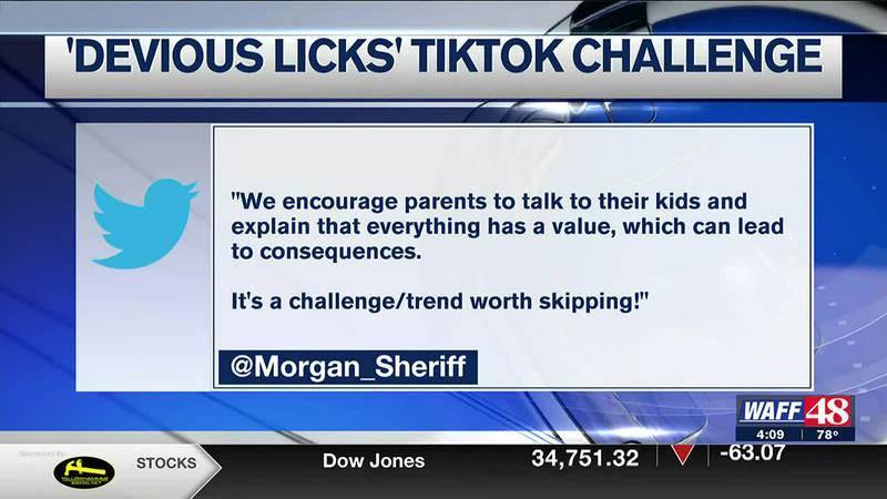 """Devious Licks"" Tik Tok challenge"