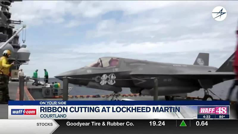 Ribbon cutting at Lockheed Martin