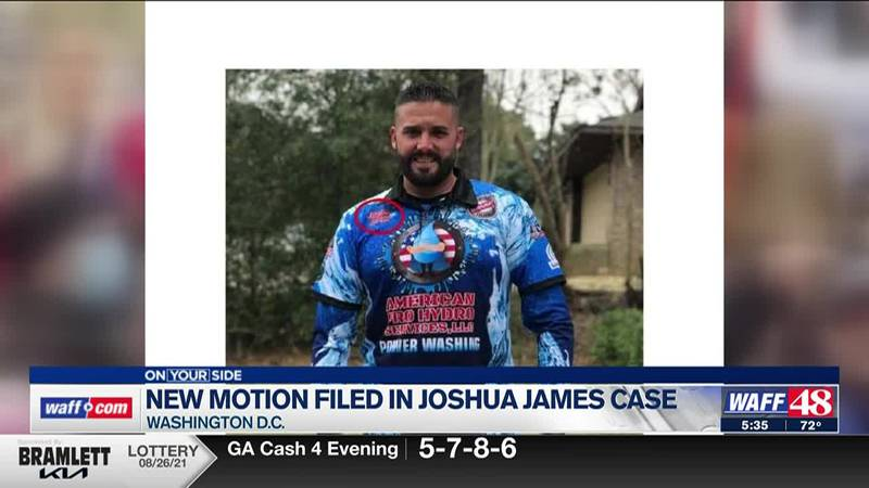 New motion filed in Joshua James case