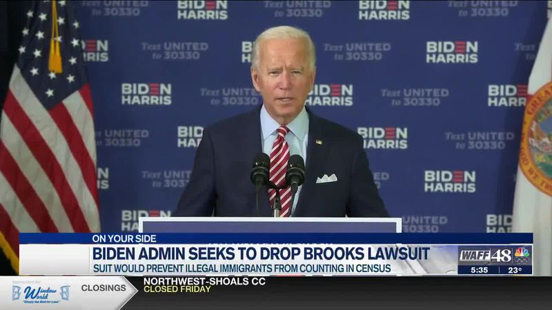 Biden Administration seeks to drop lawsuit by Mo Brooks