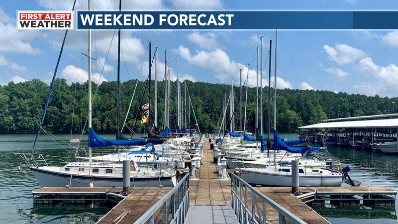 Your weekend forecast