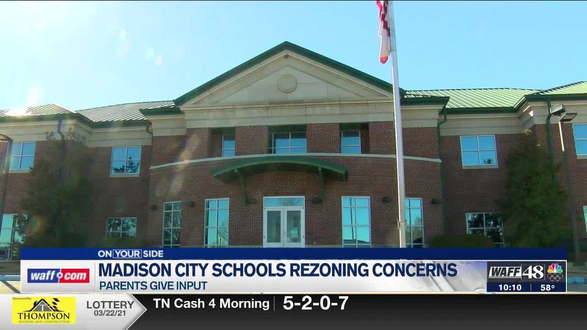 Madison City Schools rezoning concerns