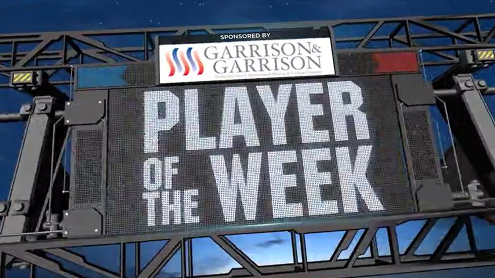 48 Blitz Player of the Week - sponsored by Garrison & Garrison