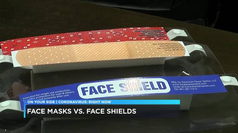 Face Mask or Face Shield
