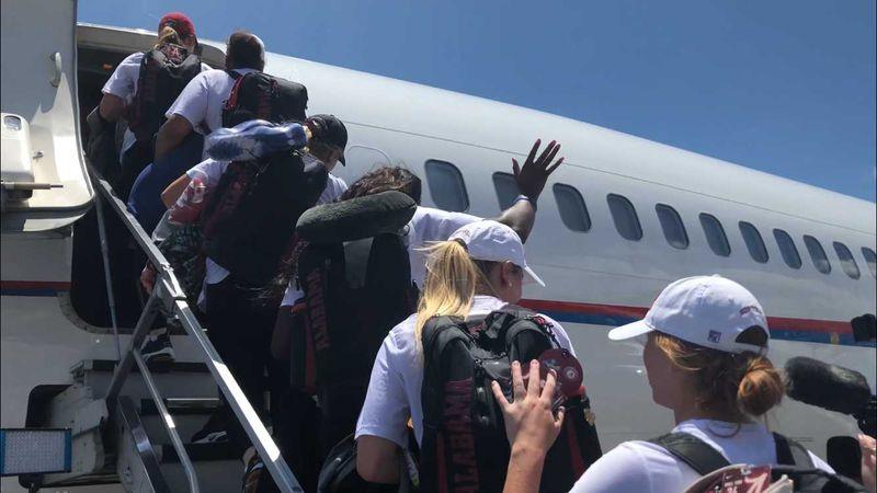 Alabama softball team headed to College World Series