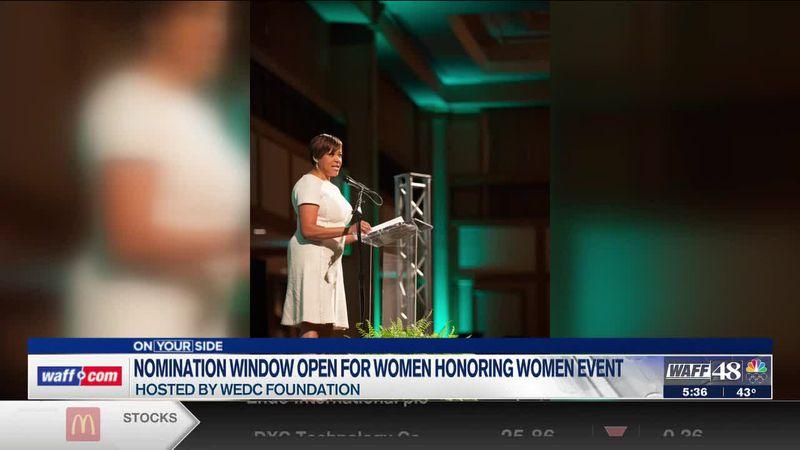 Nominations open for Women Honoring Women event
