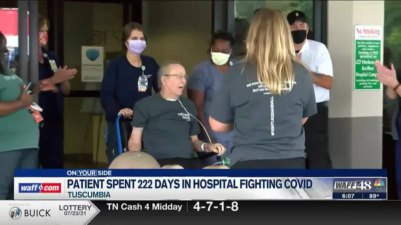 Tuscumbia patient who spent 222 days in the hospital finally heading home