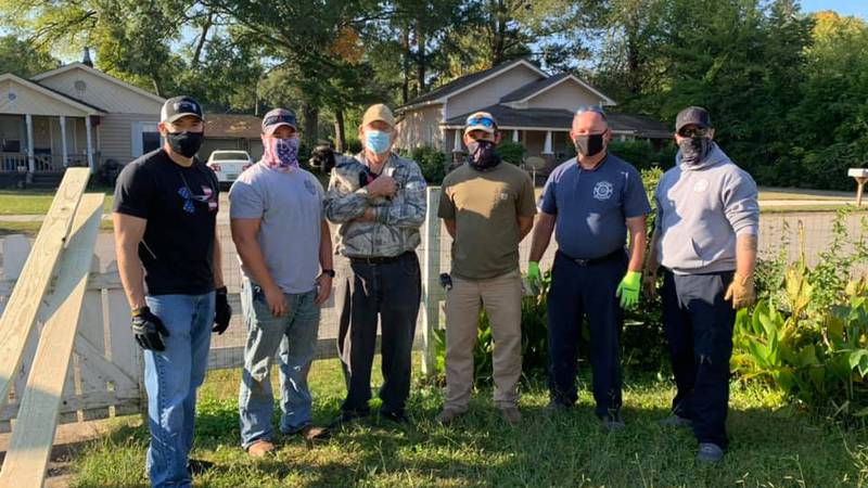 Decatur Police and Fire team up to give back