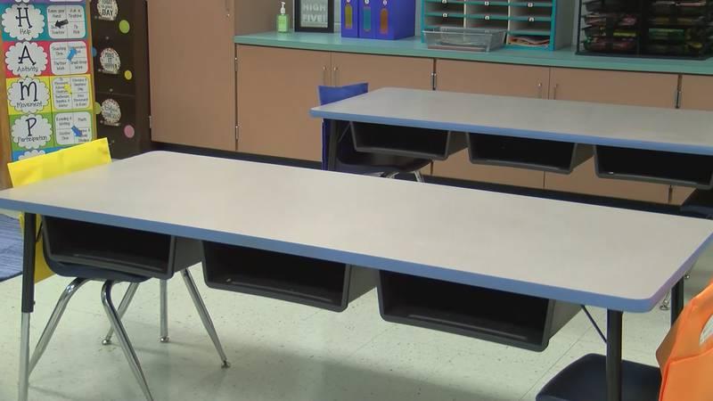 Classroom at Arab City Schools