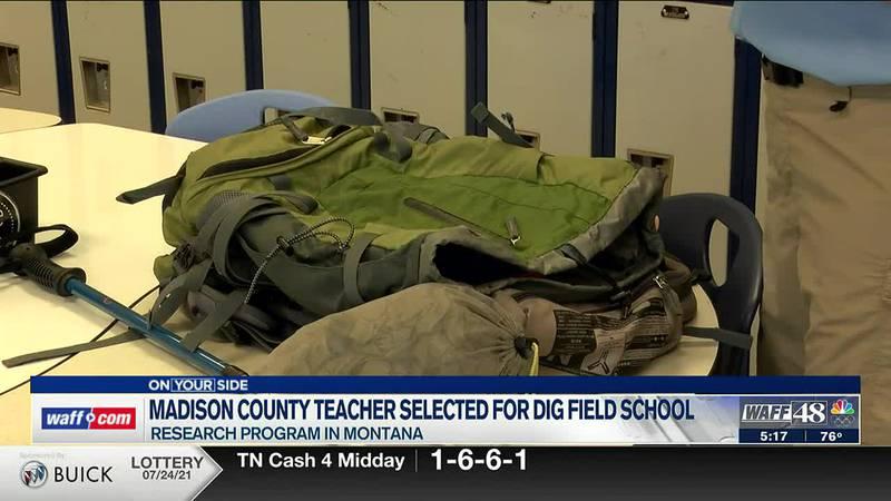 Madison County teacher chosen for DIG Field School immersive science program