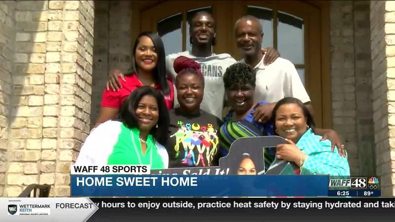 North Alabama native, Pelicans NBA Point Guard Kira Lewis Jr. surprises his parents with a new...