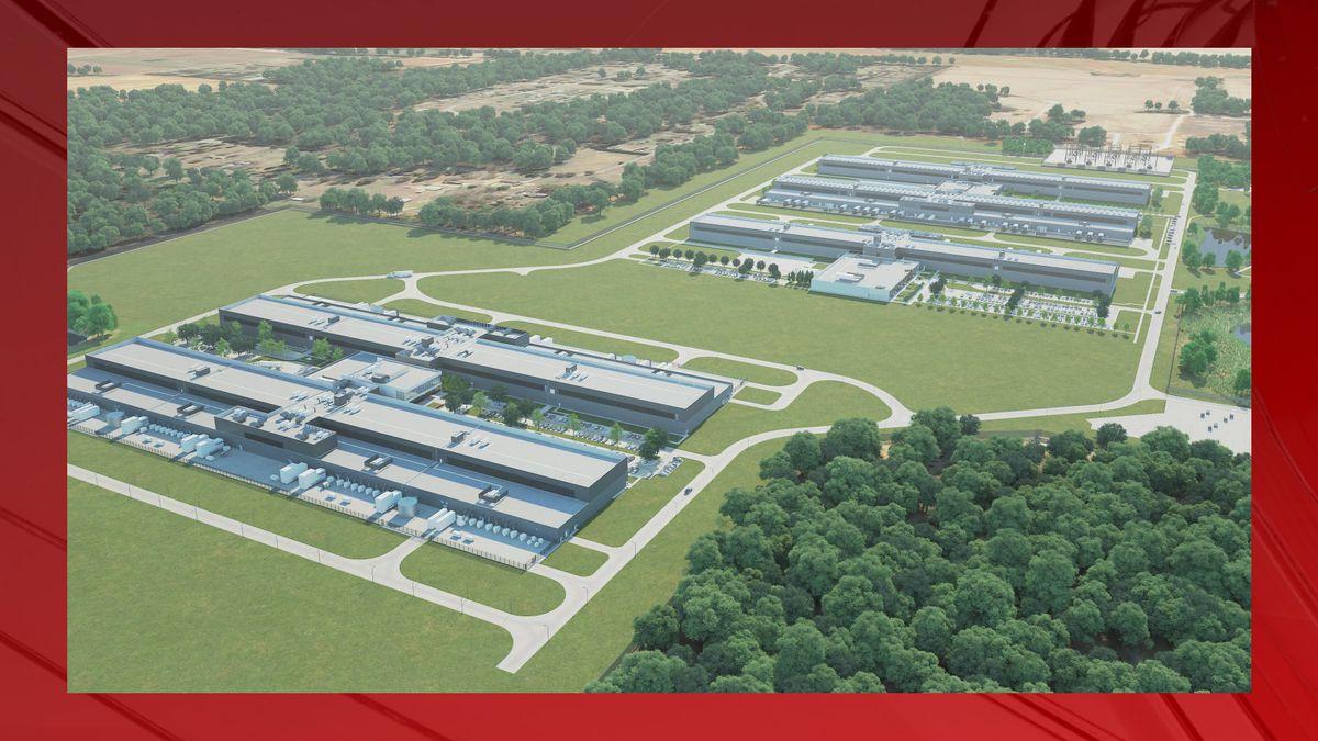 Huntsville Data Center continue to develop building