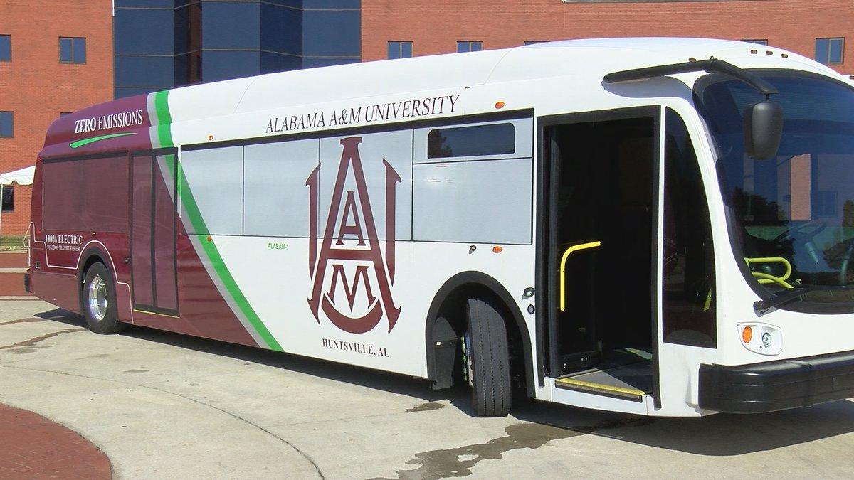 AAMU zero-emission bus