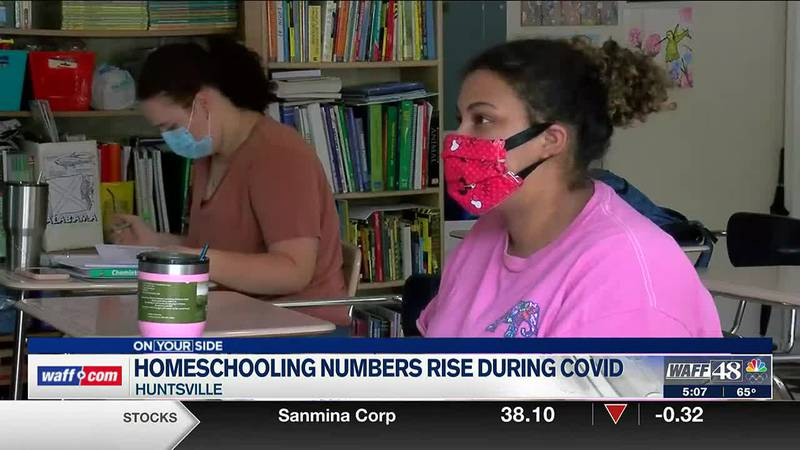 Homeschooling numbers rise during COVID pandemic