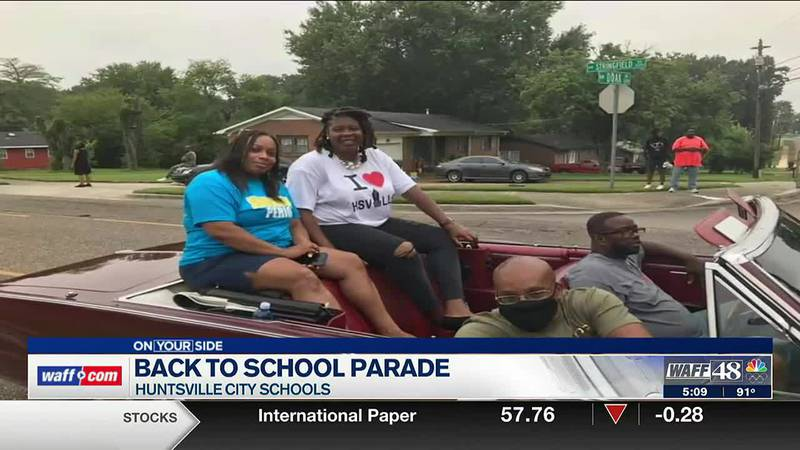 Back to school parade