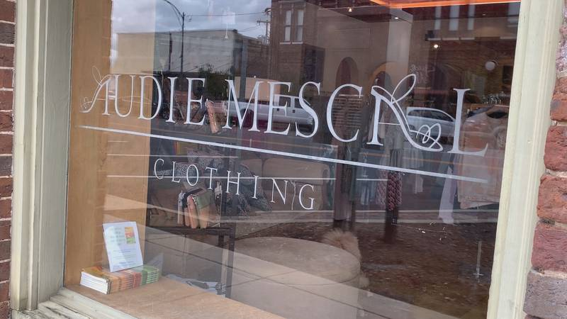 Audie Mescal Clothing is getting ready to reopen.