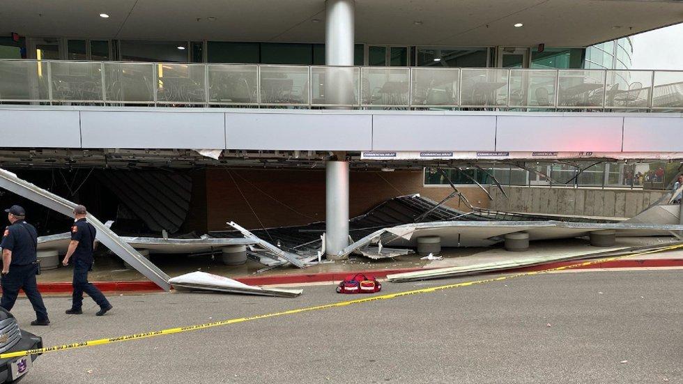 Structural damage at VBC