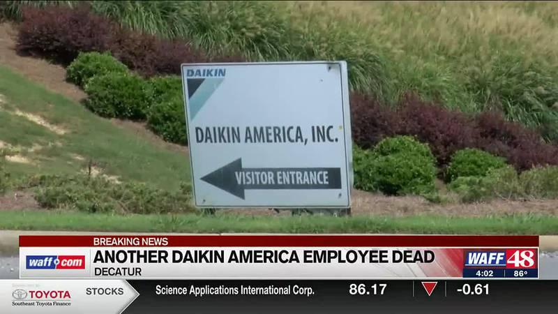 Another Daikin America employee dead