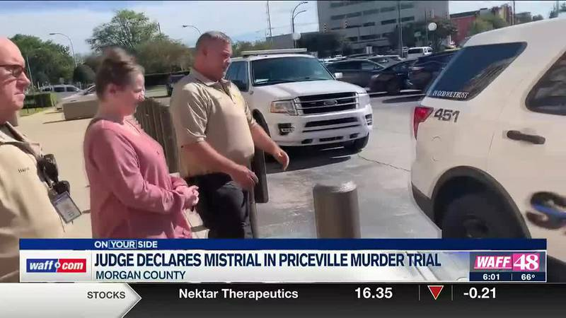 Judge declares mistrial in Priceville murder trial