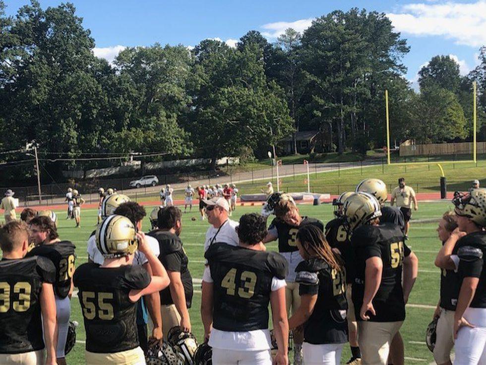 Coach Hopper back on the field following heart attack