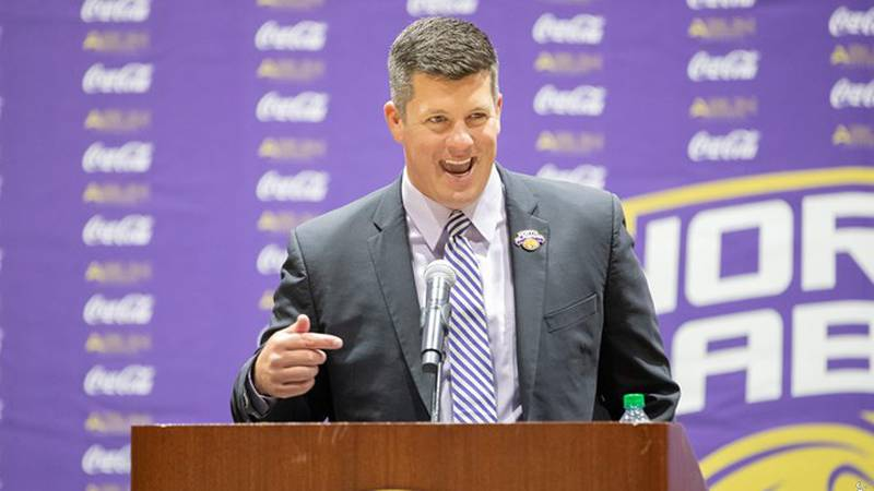 Dr. Josh Looney introduced at The University of North Alabama as the ninth Director of...