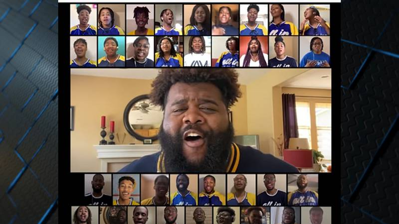 The Oakwood University Aeolians call this a video gift.