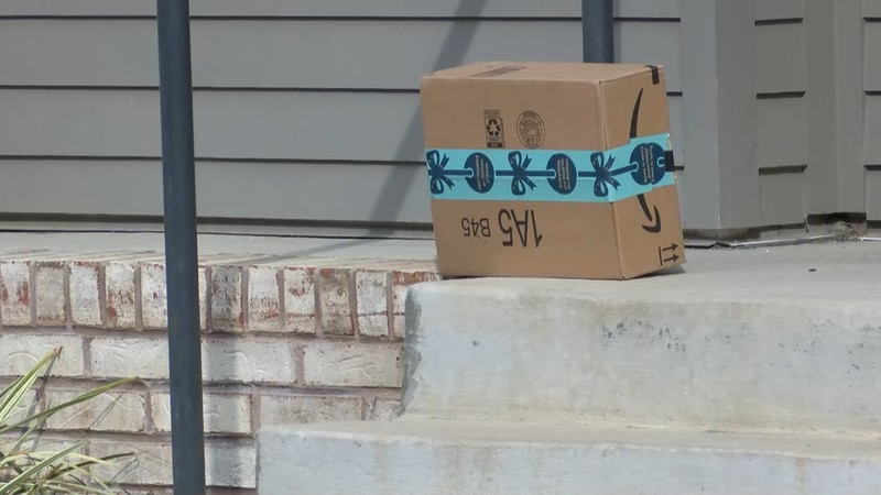 Police anticipate an increase in porch packages thefts this holiday season (Source: NBC12)