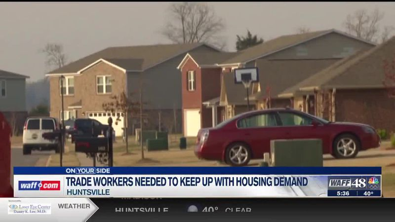 Trade workers needed to keep up with housing demand