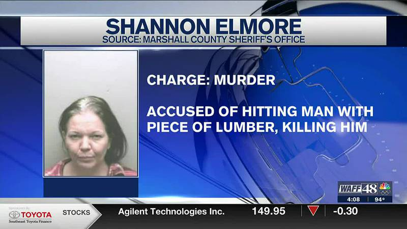 Marshall County woman arrested for murder