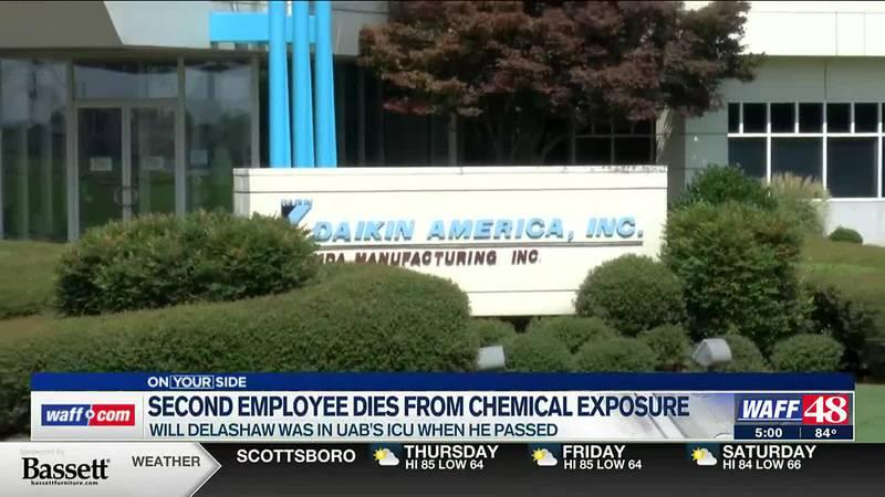 Second employee dies of chemical exposure