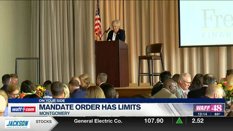 There are many questions about what Governor Kay Ivey's vaccine mandate executive order...