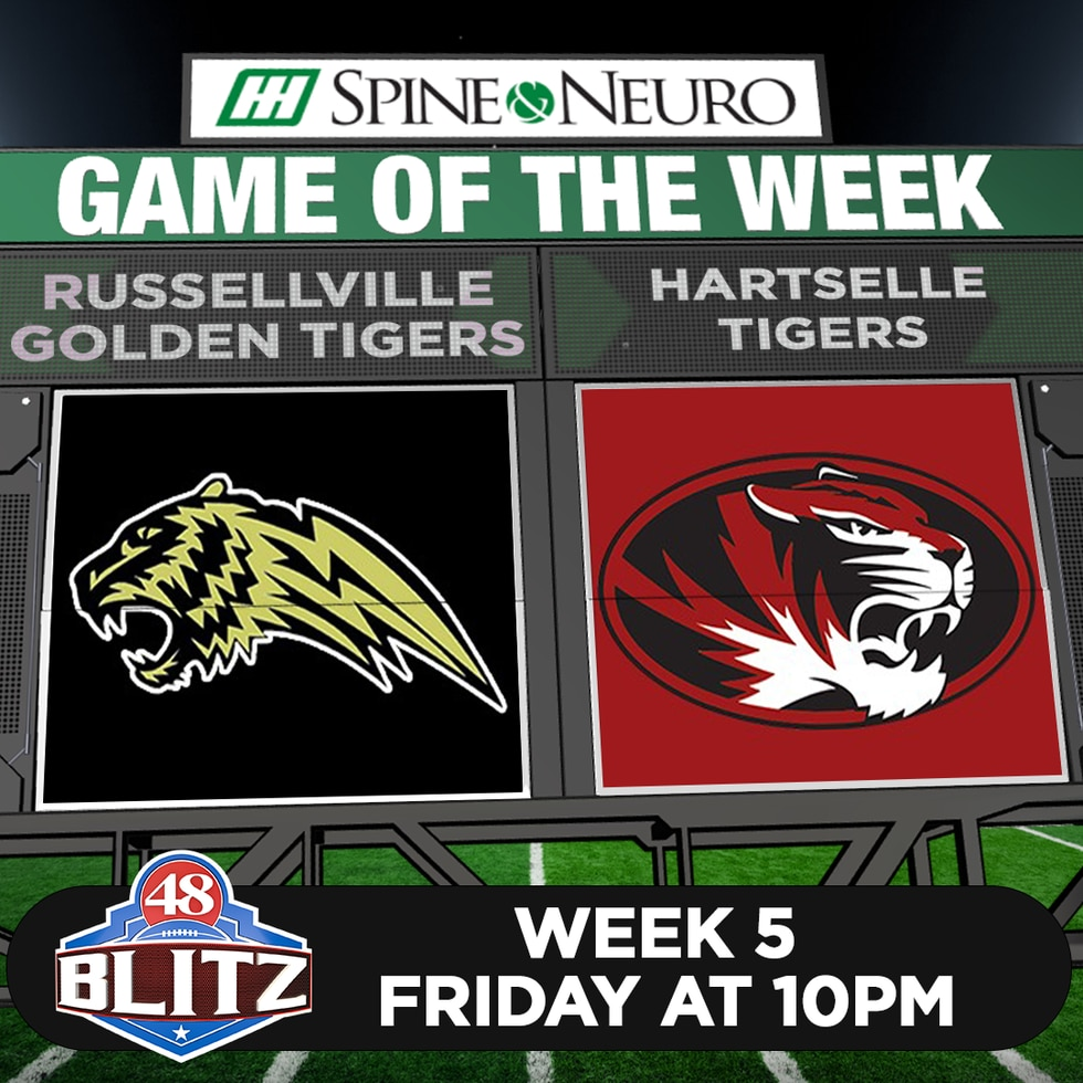 48 Blitz Game of the Week - Week 5 - Russellville at Hartselle