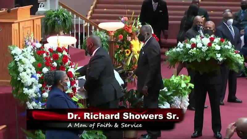 Funeral for Dr. Richard Showers, Sr.