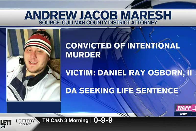 Man found guilty in murder of Daniel Ray Osborn, II