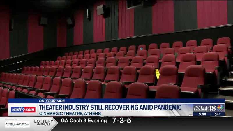 Theater industry still recovering amid pandemic