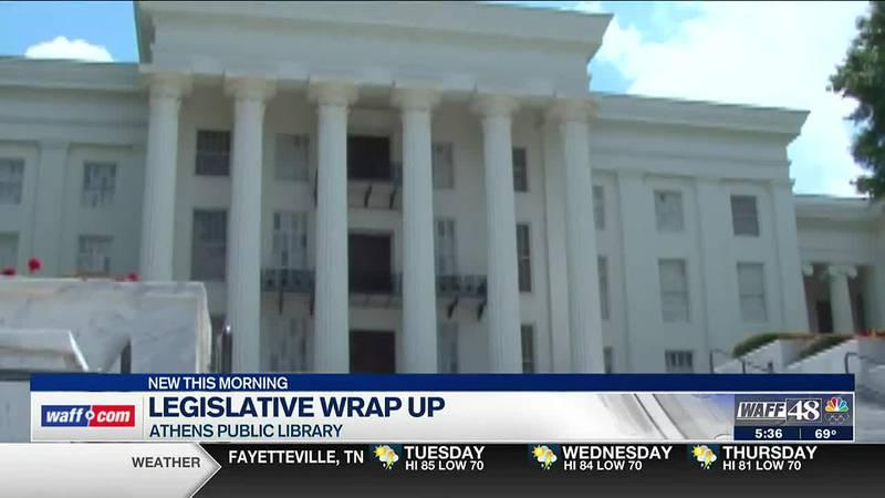 Lawmakers discuss legislative wrap up at Athens Public Library